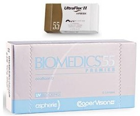 ultraflex ii aspheric contact lenses only $24.00 or less.