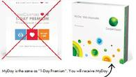 MyDay (Same as LensCrafters 1-Day Premium)