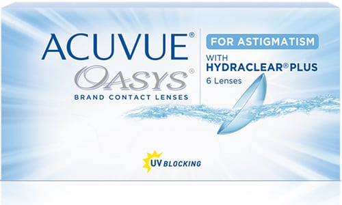d3cb5375b8a Acuvue Oasys for Astigmatism Contact Lenses only  38.99 or lower.