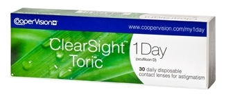 ClearSight 1-Day Toric 30 Pack