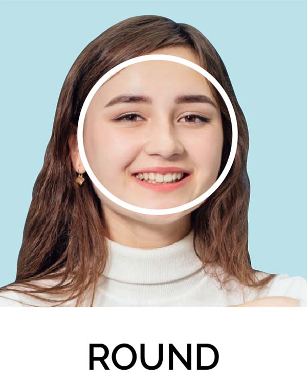 Round Shape Face